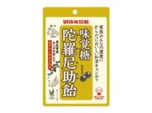 味覚糖 陀羅尼助飴● 奈良県産●キハダの実入り●(内容量80g)